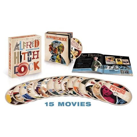 Alfred Hitchcock Masterpiece Blu-Ray Collection Includes Psycho, Rear Window, And More -    Cannot WAIT. Droool.....
