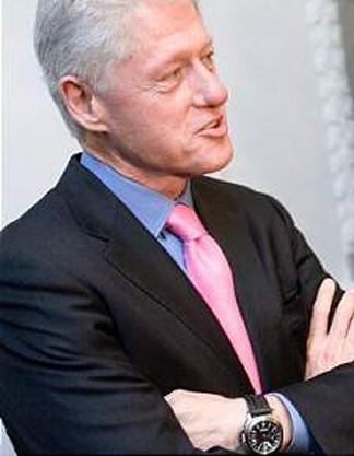 Bill Clinton in a Panerai Replica