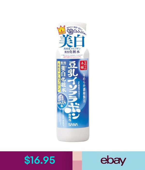 Cleansers & Toners Sana Japan Nameraka Honpo Soy Isoflavone Whitening Lotion Toner (200Ml/6.7Fl.Oz) #ebay #Fashion