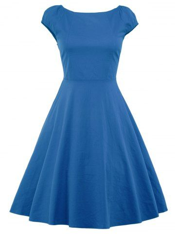 GET $50 NOW | Join RoseGal: Get YOUR $50 NOW!http://m.rosegal.com/vintage-dresses/vintage-high-waist-fit-and-938133.html?seid=7551173rg938133