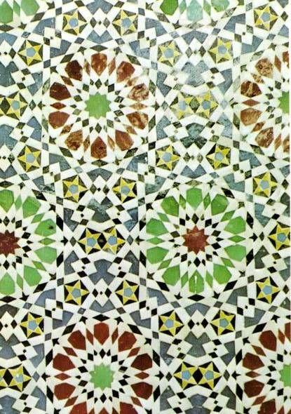Арабеска Арабеска — особый вид орнамента, возникший в мусульманском искусстве. Арабеска представляет собой сложный узор, в основе которого лежит строгий математический расчет. Арабеска построена на повторении или умножении одного или нескольких элементов — геометрических фигур или растительных мотивов. В рисунок арабески могут вплетаться отдельные изображения животных, птиц, людей, фантастических существ, а также надписи.