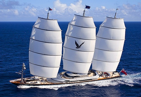 Maltese Falcon, the world's largest, best designed, and