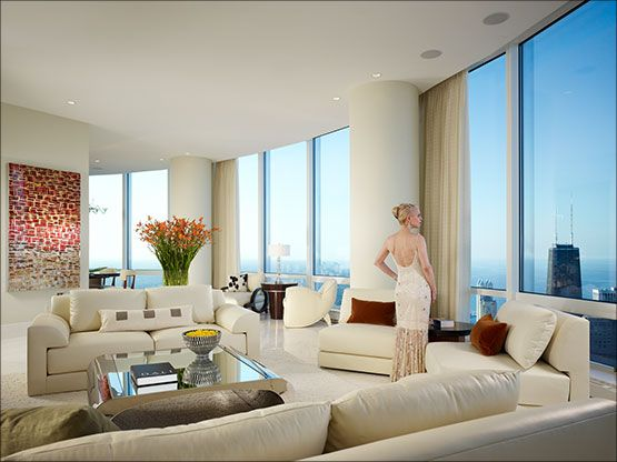 Architecture Art Interior Design Trump Tower Chicago Penthouse Dise O De Interiores