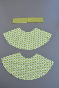 emma en mona: Handleiding A-lijnrokje, minder stof dan cirkel rok