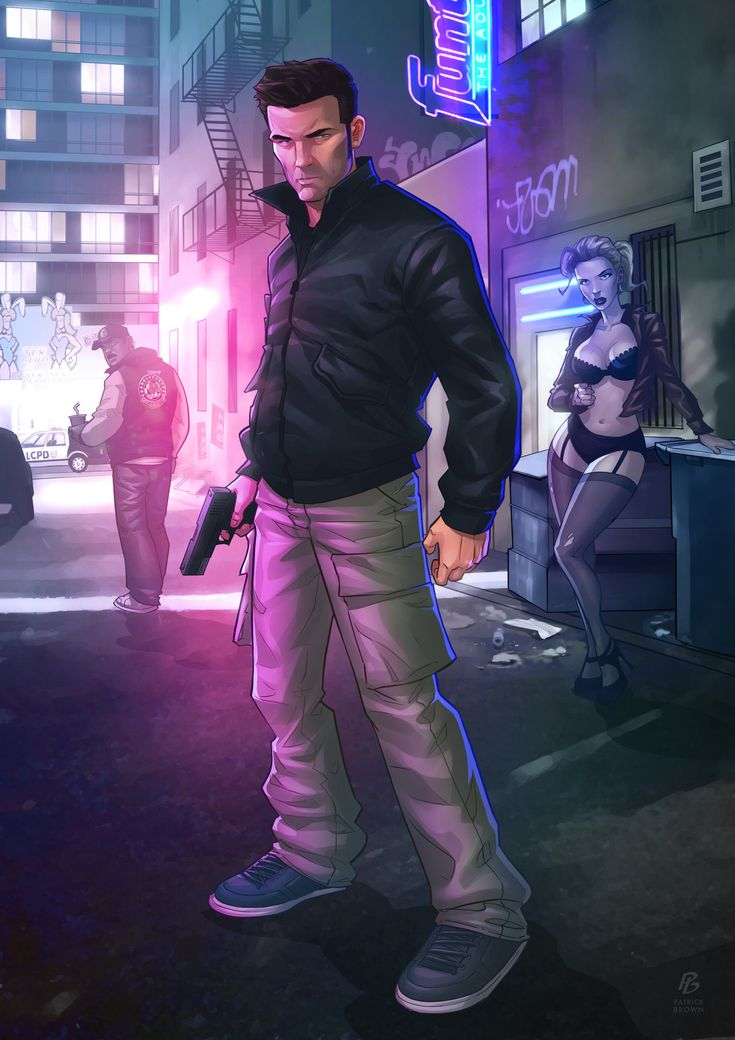 Claude Speed - GTA III by PatrickBrown.deviantart.com on @deviantART