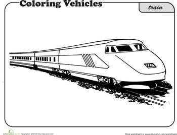 Train Worksheet Education Com Train Coloring Pages Coloring Pages Cool Coloring Pages