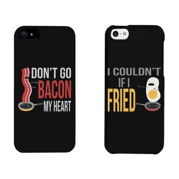 Funny Bacon and Egg Matching Phone Cases for iphone 4, iphone 5, iphone 5C, iphone 6, iphone 6 plus, Galaxy S3, Galaxy S4, Galaxy S5, HTC M8, LG G3