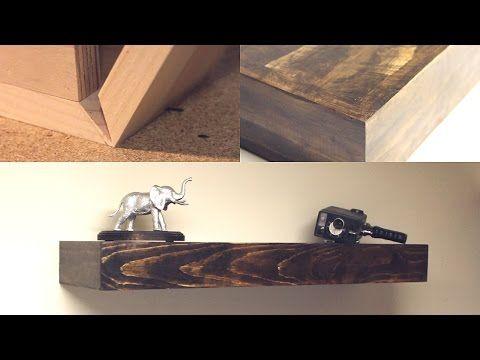 DIY Floating Shelves | Shanty2Chic - YouTube