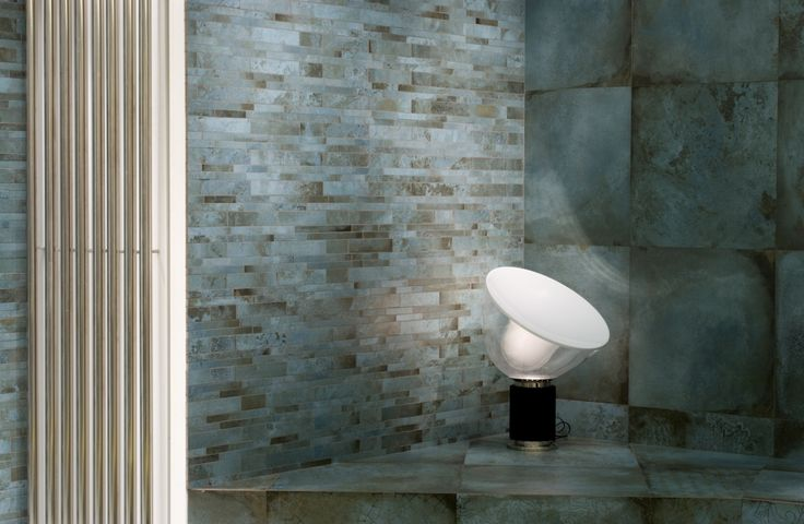 New #Cersaie 2014 wall tiles TRACE collection. Mint 60x60 cm and Trace Mint Cover