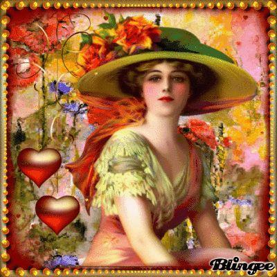 Valentinsgruß Vintage