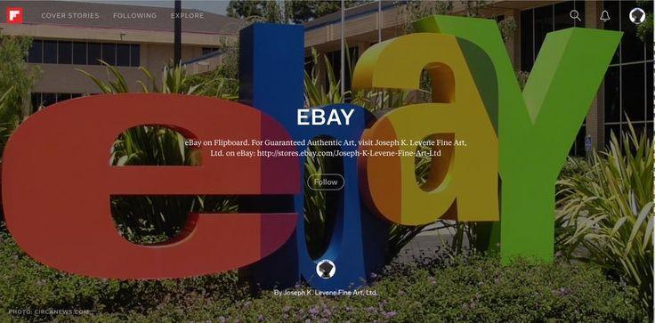 Read #eBay on #Flipboard by #JKLFA   Joseph K. Levene Fine Art, Ltd.