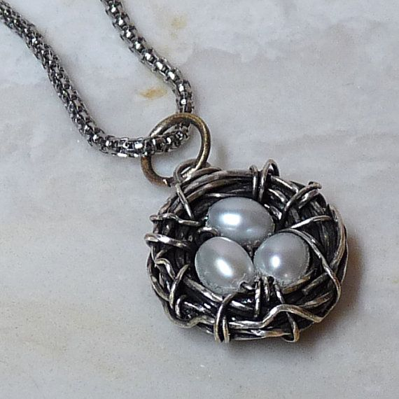 Gotta make this! Jewelry Making Tutorial - Bird's Nest Wire Wrapped Pendant for Beginner to Advanced