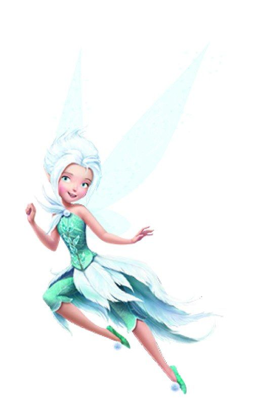 Disney Fairies, Periwinkle. Love the dress!