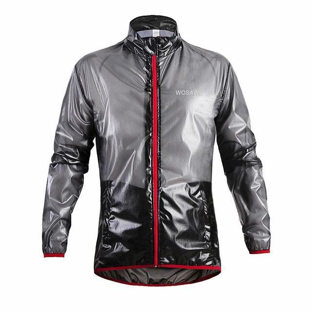 Wosawe Bicycle Jacket Waterproof Jersey Rain Wind Coat Mtb Bike Raincoat Windbreaker