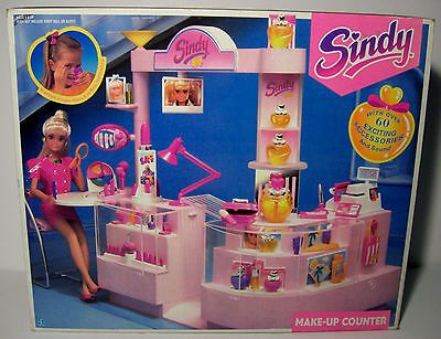 Sindy 1991 Make Up Counter Beauty Studio Shop Furniture Sealed Mib Misb New