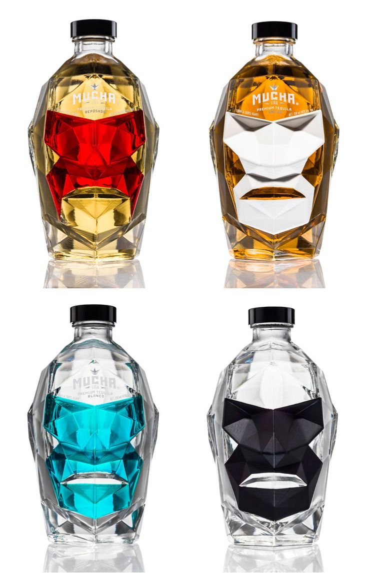 Mucha Liga Tequila Packaging