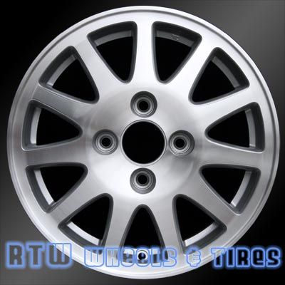 "Acura TL wheels for sale 1997-1998. 15"" Machined Silver rims 71708 - http://www.rtwwheels.com/store/shop/acura-tl-wheels-for-sale-machined-silver-71708/"