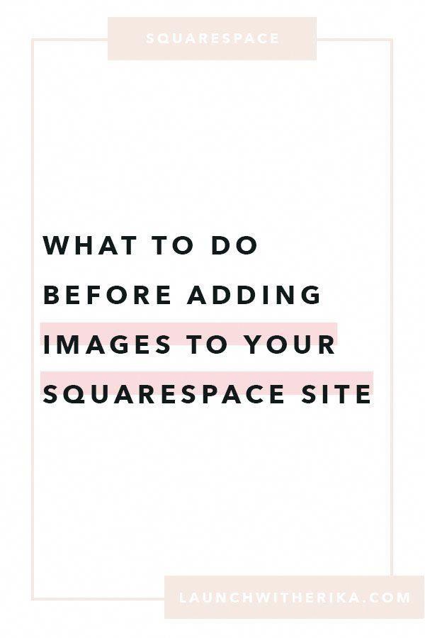 Launch With Erika Squarespace Web Designer Squarespacetemplates Squarespacedesigner Squarespace Web Desig Web Design Tips Web Design Squarespace Web Design
