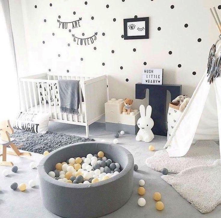 LES 10 MEILLEURES INSPIRATIONS DE GARDERIES MODERNES – Chaylor & Mads   – babyroom