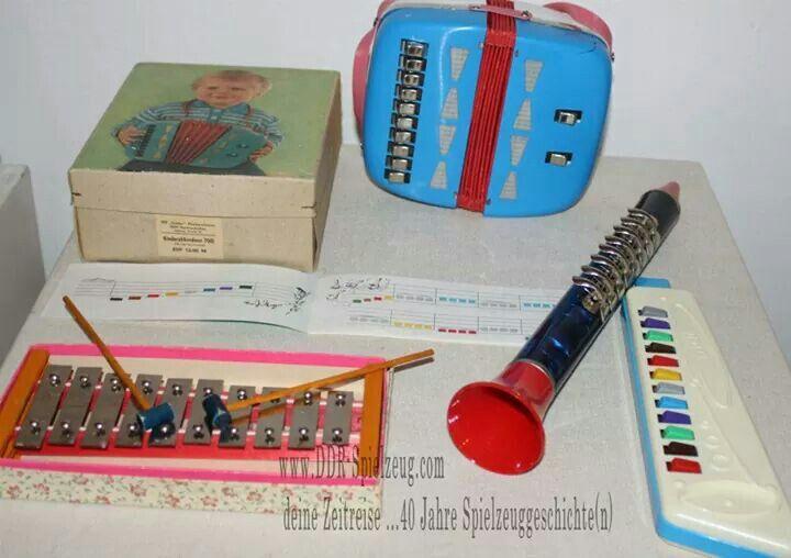 Kinderinstrumente | www.DDR Spielzeug.com | Deine Zeitreise...40 Jahre Spielzeuggeschichte(n)