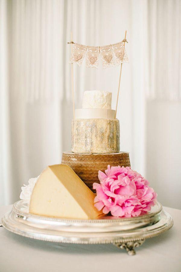 Cheese Wheel Cake   Joseph Koprek Photography on @polkadotbride