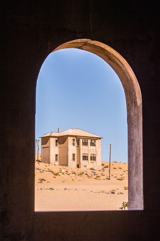 View into the past, Kolmanskop, Namibia #namibia