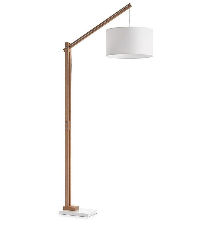 Resultado de imagen para lampara de pie madera