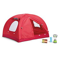American Girl® Accessories: Great Outdoors Tent. I would love to have this tent. I love camping! -Hailey: Outdoor Tent, Girls Generation, American Girls Accessories, Dolls Tent, American Girls Dolls Camps, American Girls Tent, Outdoors, Ag Tent, American Girl Dolls