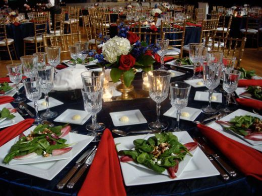 Beautiful If I Have A Formal RED Wedding Color Scheme Designed Around The Dress Blue  Uniform For The Reception.