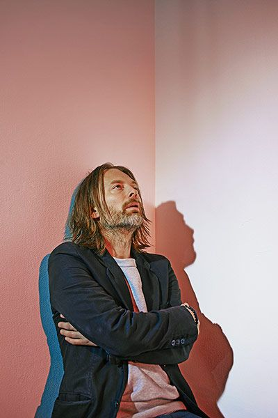 Thom: Thom Yorke photographed in London for the Observer New Review