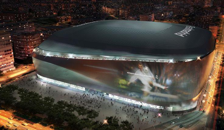 Proyectarán imágenes en la fachada del estadio