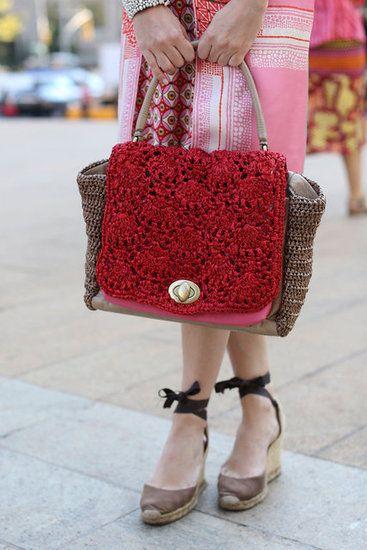 love this crochet beauty