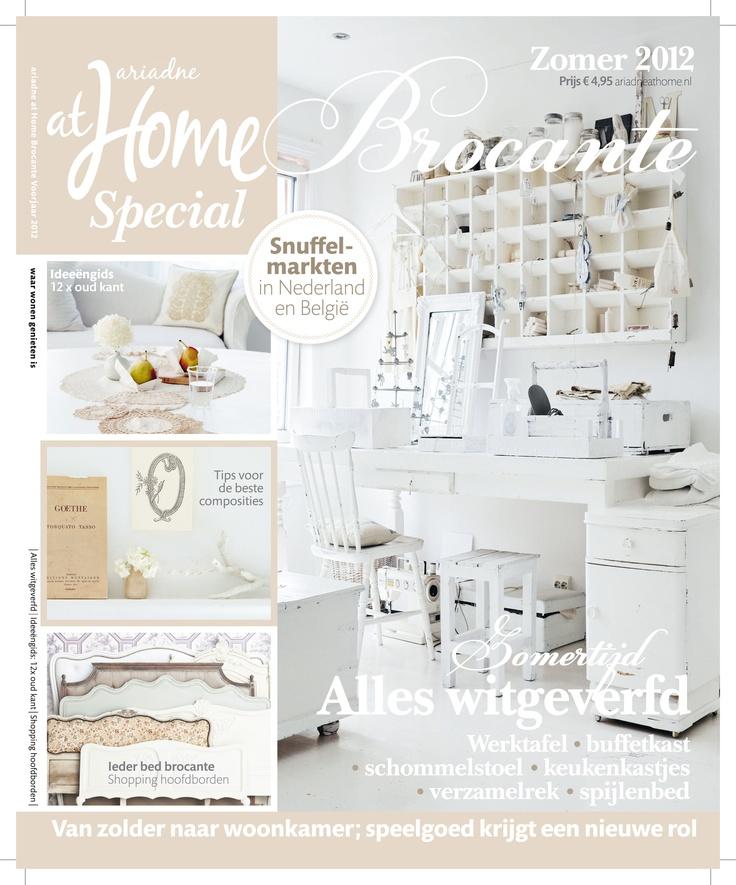 ariadne at Home Brocante zomer 2012. #magazine #cover #brocante #shabby