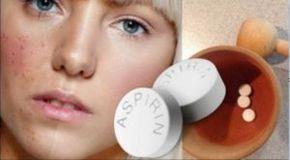 Usate l'aspirina in questo modo e direte addio in un attimo ad acne, macchie della pelle e rughe!