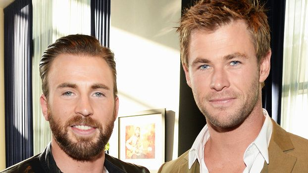 Chris Evans Wished Chris Hemsworth Happy Birthday with a Hilarious Avengers Blooper