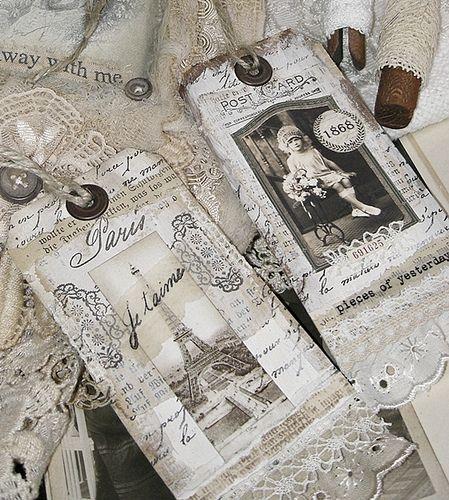 vintage tags | Flickr: Intercambio de fotos