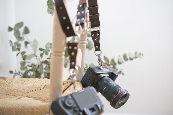 Arneses en cuero para fotógrafos. www.teyaproject.com