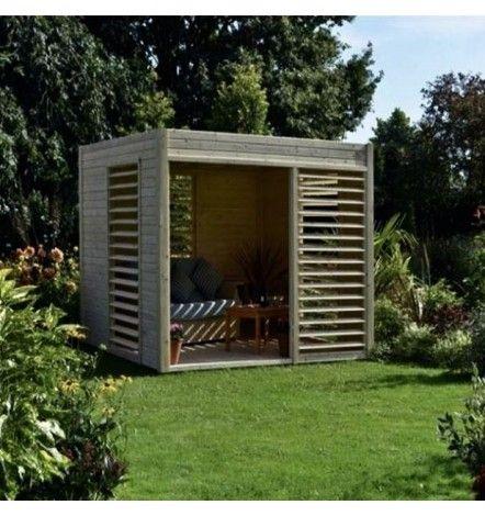 Abri de jardin ARTY 264x256cm
