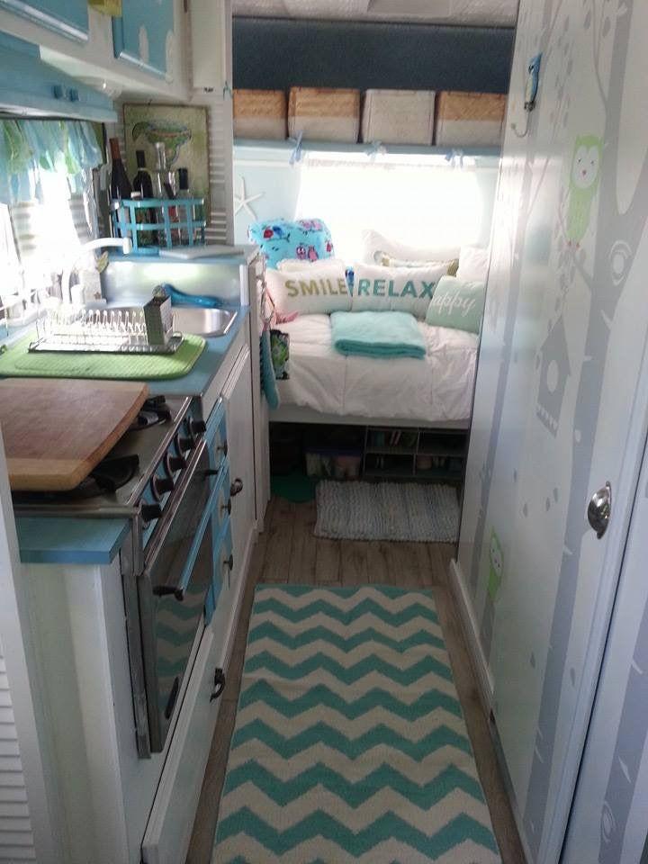 Vintage camper/ trailer interiors