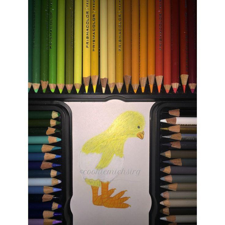 #Cute #little #chicken #prisma #prismacolor #animal #drawing #art #artsy #artist #artwork