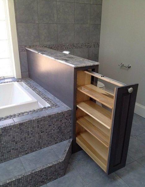 Шкаф в ванной