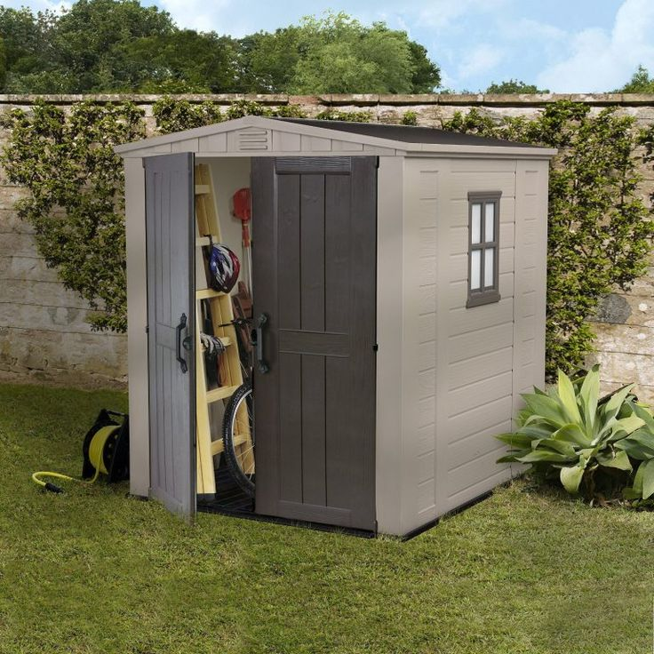6 x 6 storage shed quality plastic sheds keter factor 6 x 6 ft