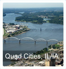 Quad Cities - Two State, Five Cities, ONE Great Destination
