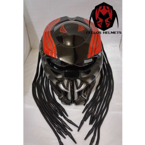 ALIEN PREDATOR HELMET MOTORCYLE-SIZE M-L-XL | benmustafaz_80Shop -  on ArtFire