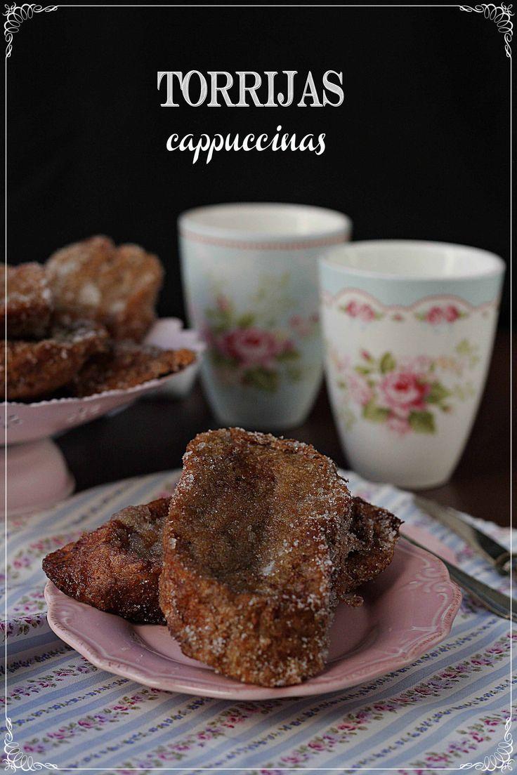 Torrijas cappuccinas {by Paula, Con las Zarpas en la Masa}
