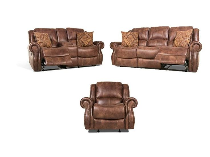 Corithian Billy Reclining Sofa and Loveseat, Recliner FREE 55BILLY