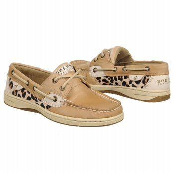 Women's Sperry Top-Sider Bluefish 2-Eye Linen/Leopard Shoes.com