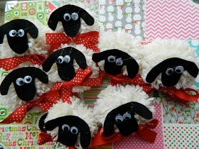 Truth in the Tinsel Day 17: sheep ornament