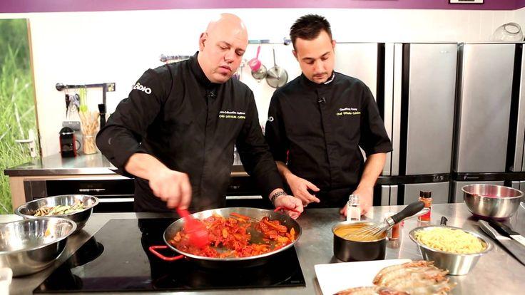 Le fideua (plat espagnole) du chef J.S. Reilhac de Zôdio Massy