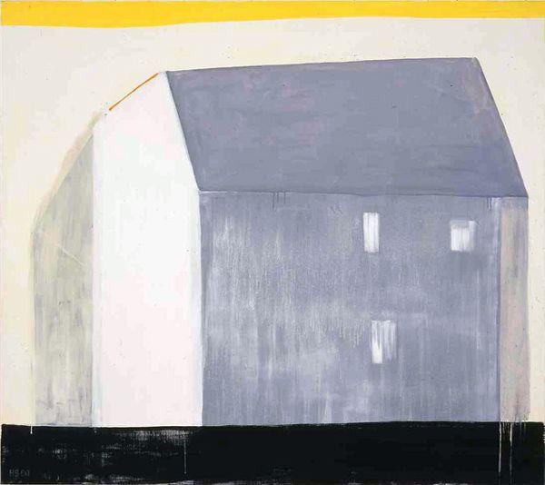 Solskinn, 2000, 160x180cm, akryl